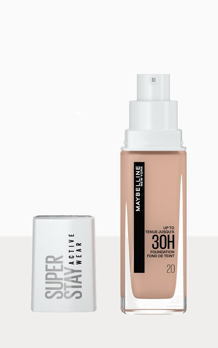 Maybelline Superstay Active Wear Full Coverage 30 Hour Long-lasting Liquid Foundation 20 Cameo 1