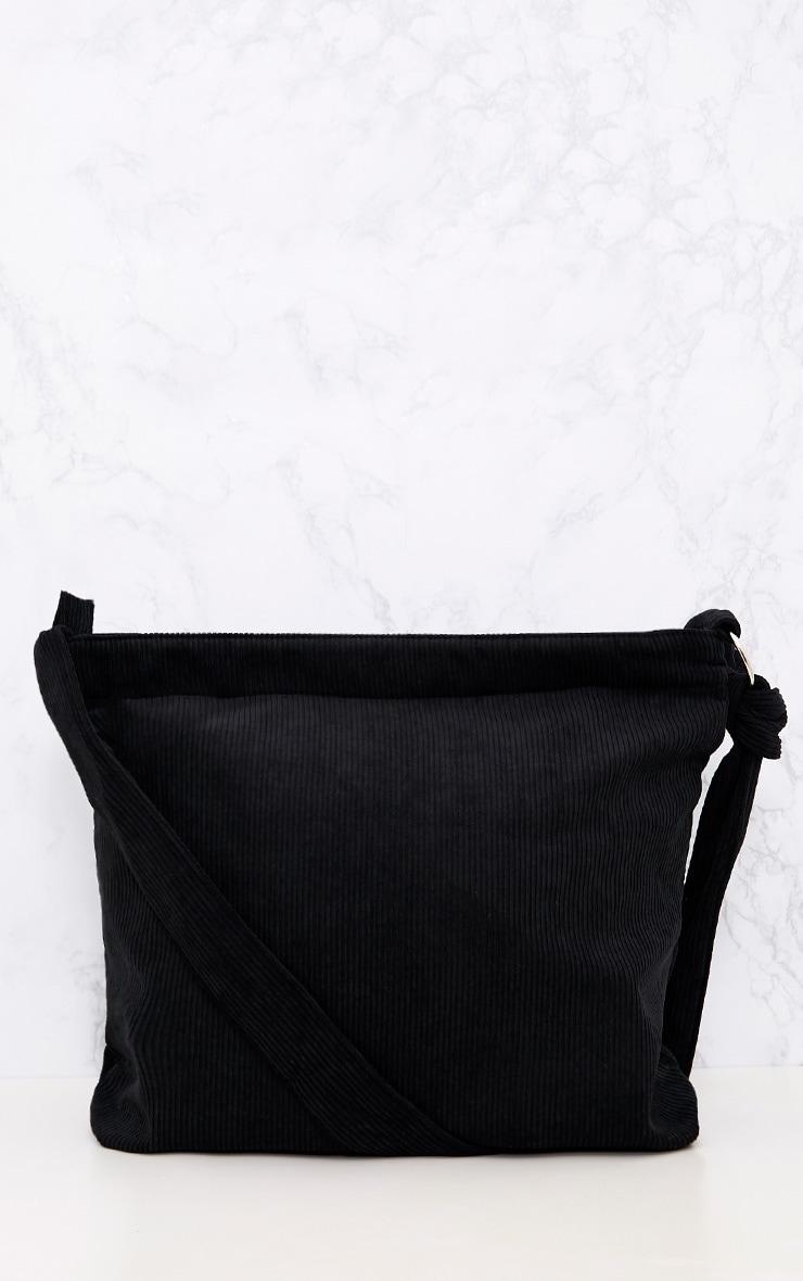 Black Cord Oversized Shopper