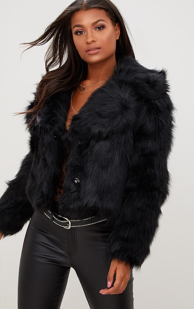 8cdba8345 Faux Fur Coat