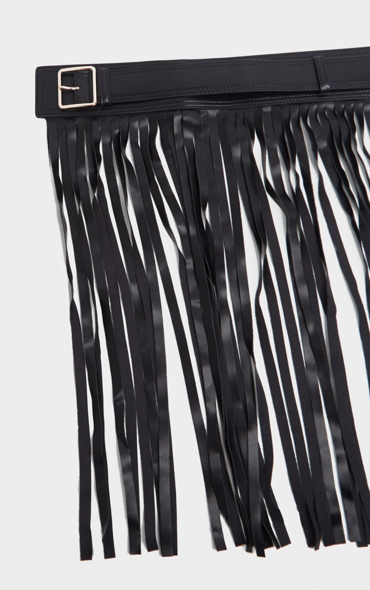 Black Western Fringe Belt 2