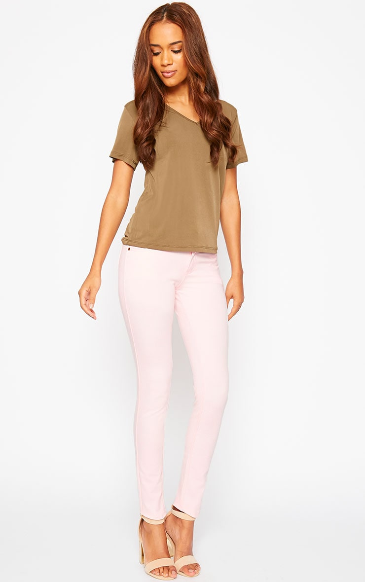 Baby Pink Jeggings 5