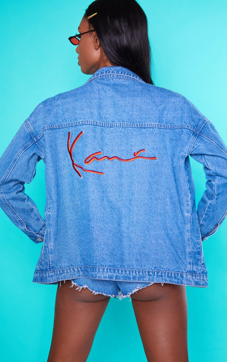 KARL KANI Vintage Wash Denim Jacket 1