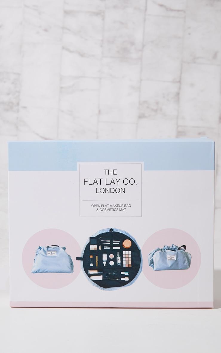 The Flat Lay Co Makeup Bag Haze Blue 4