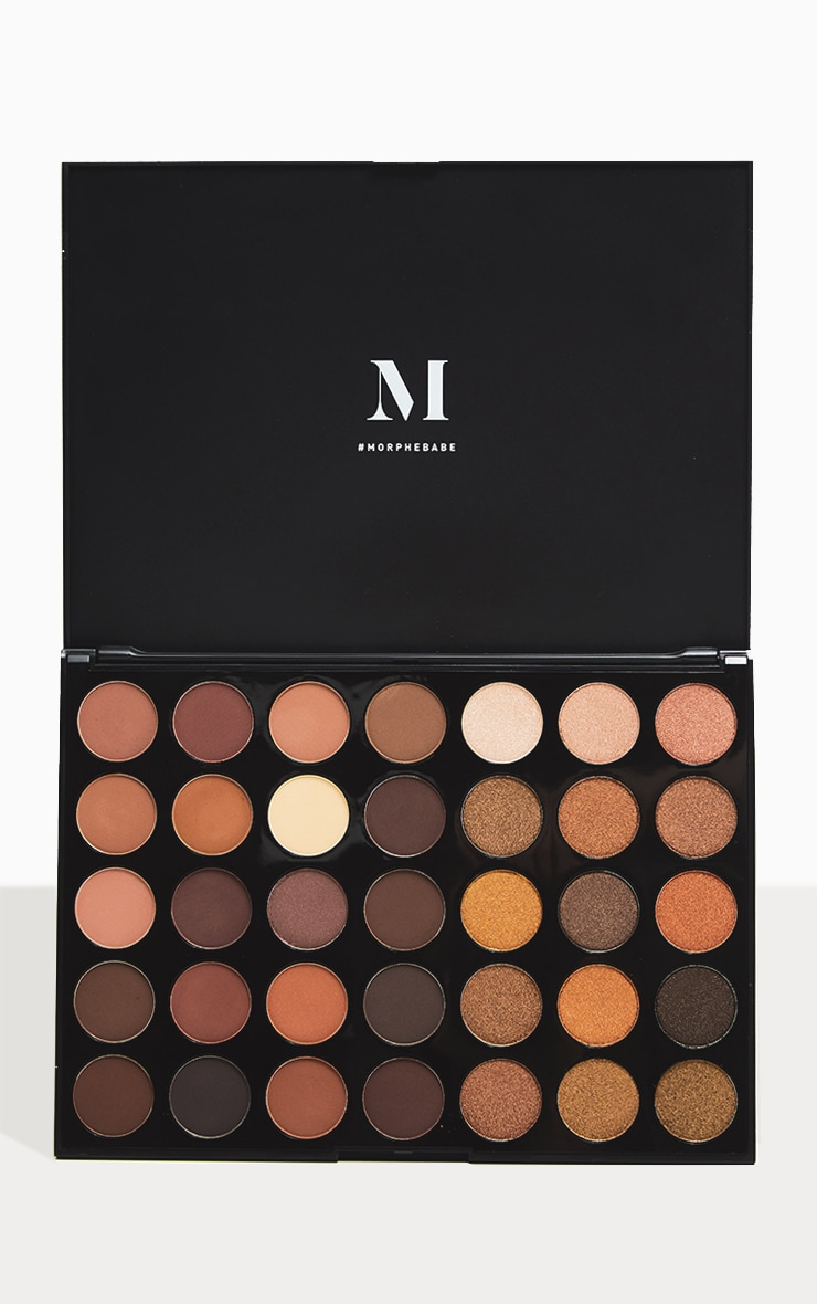 Morphe 35R Ready Set Gold Eyeshadow Palette 1