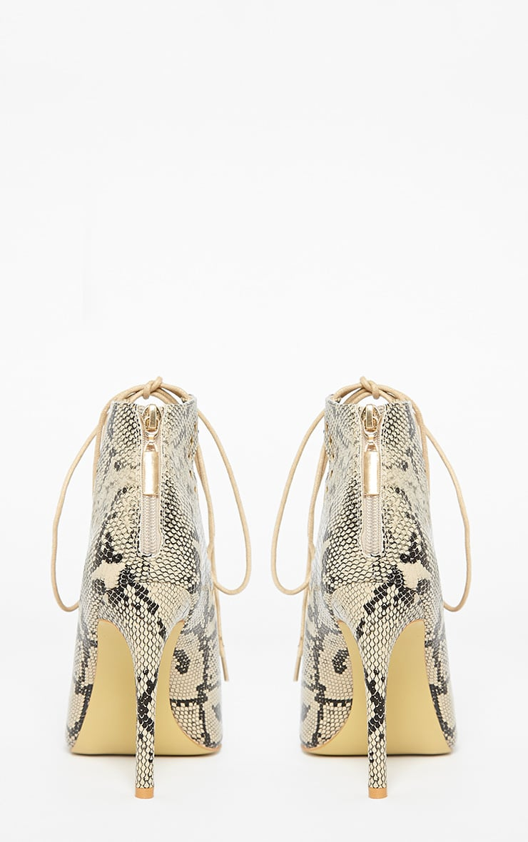 Xylia Snake Cut Out Detail Heels 8