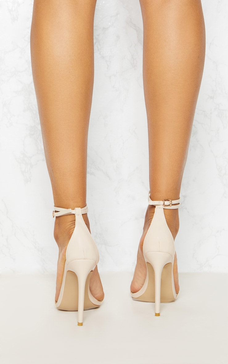 Nude Point Toe Barely There Sandal 4