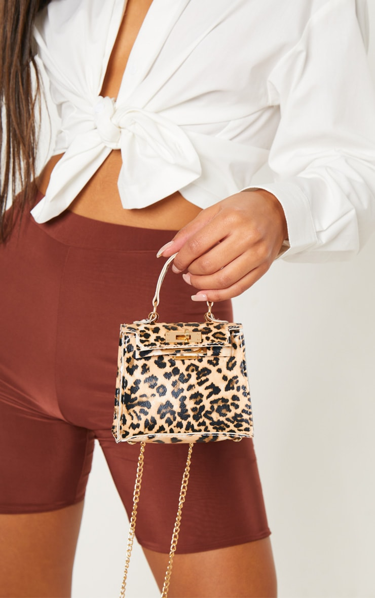 Leopard Print Micro Mini Bag 1