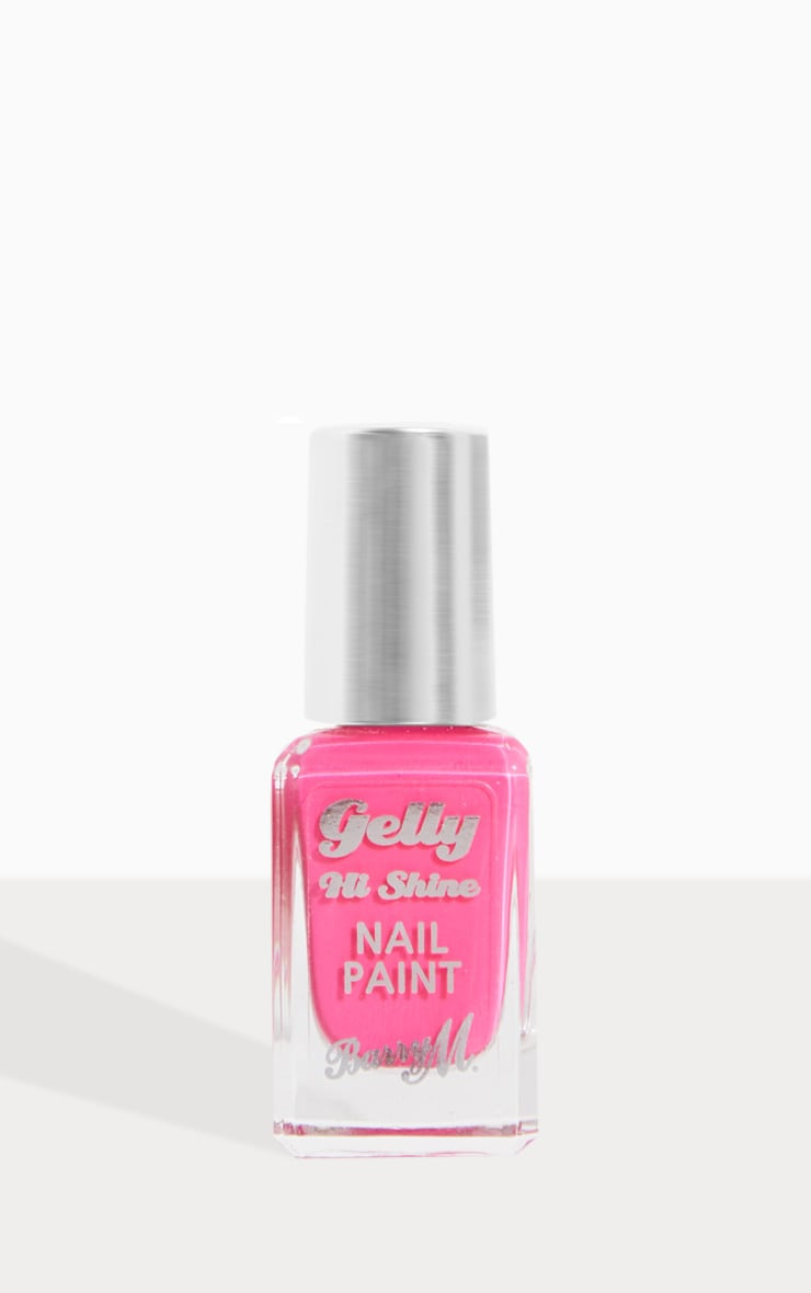 Barry M Gelly Hi Shine Nail Paint Punch 2