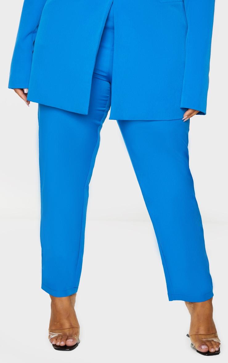 Plus Blue Cropped Pants 2