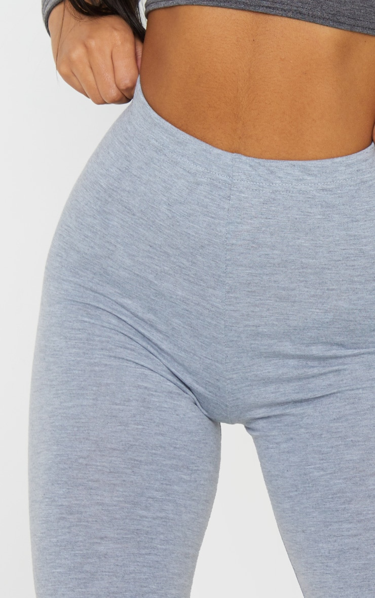 Essential Jersey Grey Cycle Shorts 5