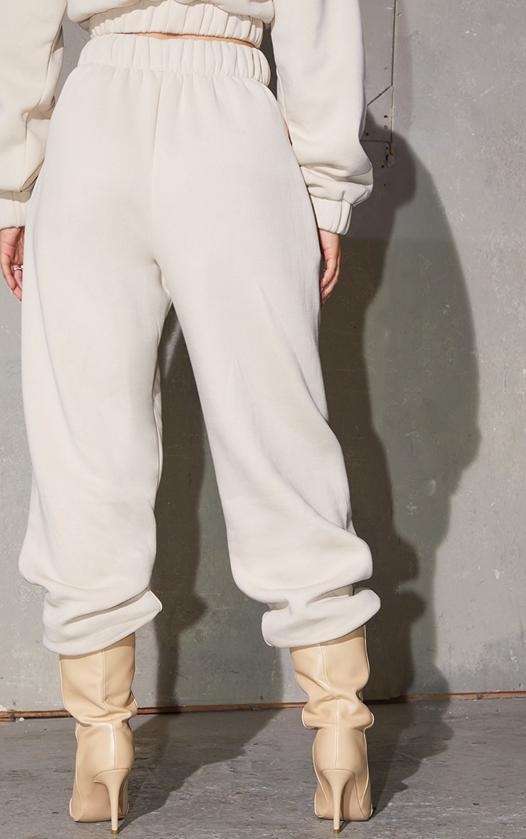 PRETTYLITTLETHING Stone Embroidered Pocket Detail Joggers 3