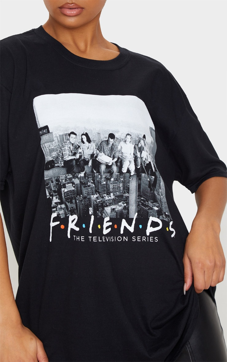 Black Friends New York Oversized T Shirt 5
