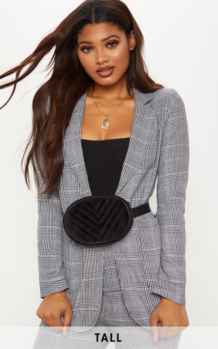 Tall Grey Checked Blazer  1