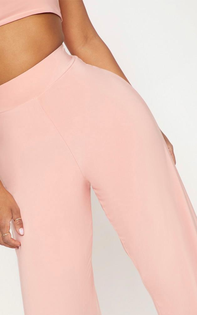 Shape Pink Slinky Extreme Wide Leg Trousers 5