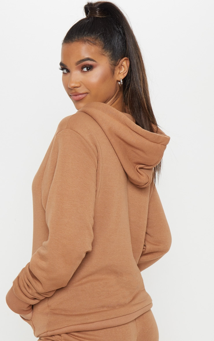 Taupe Oversized Hoodie 3