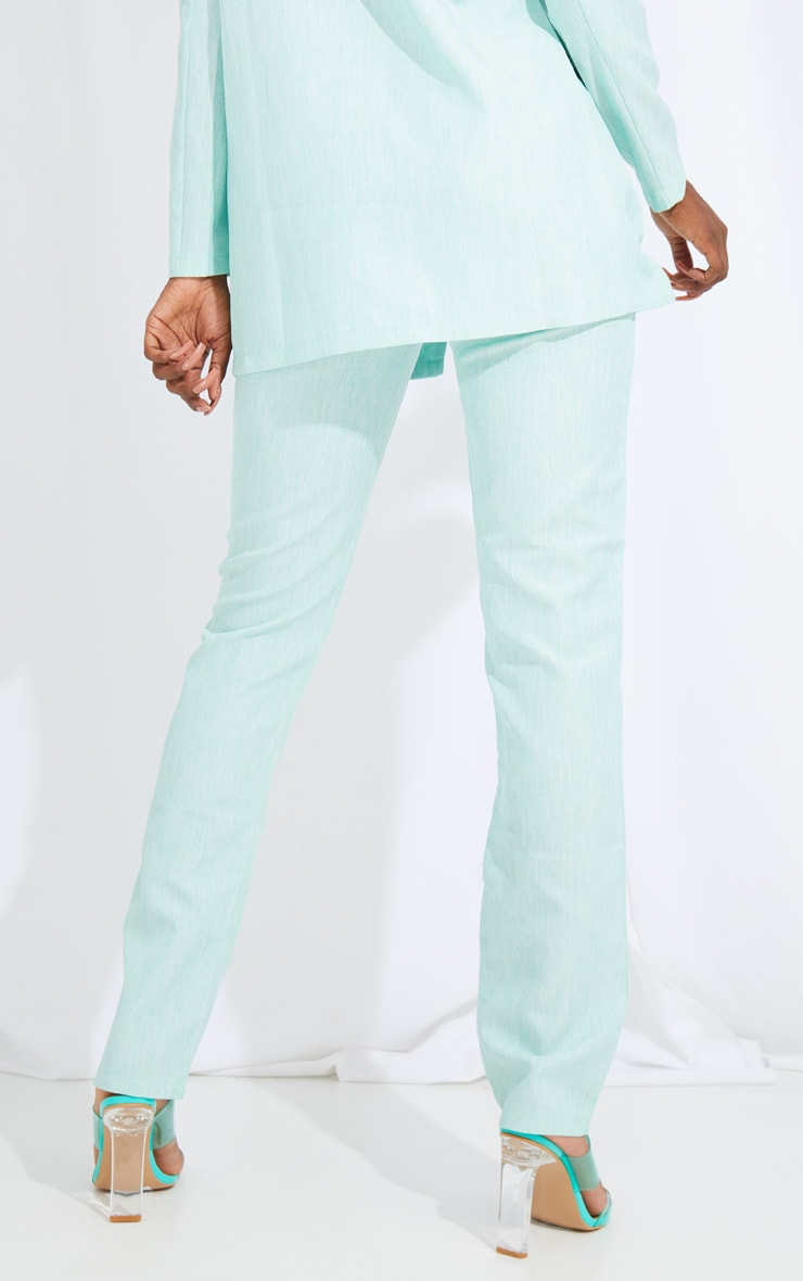 Tall Mint Oversized Wide Leg Suit Pants 3