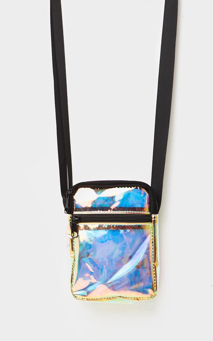 Iridescent Cross Body Bag 2