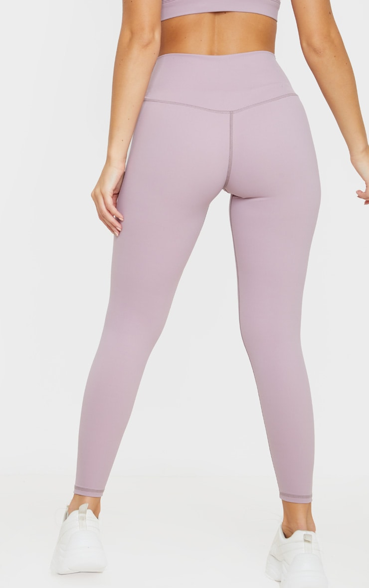 Mauve Sculpt Luxe High Waist Gym Legging 4