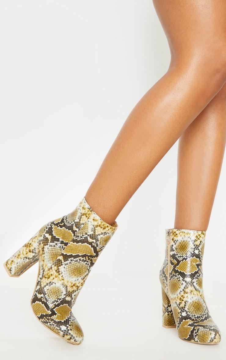 Multi Snake Behati Ankle Boot 1