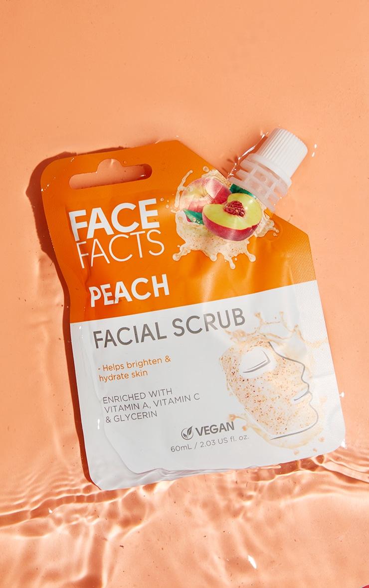 Face Facts Facial Scrub Peach 1