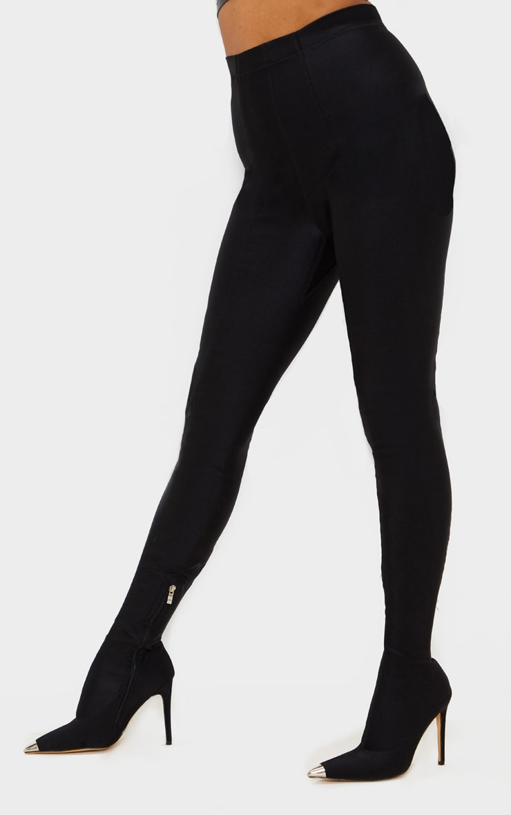 Black Point Toe Lycra Trouser Boot 3