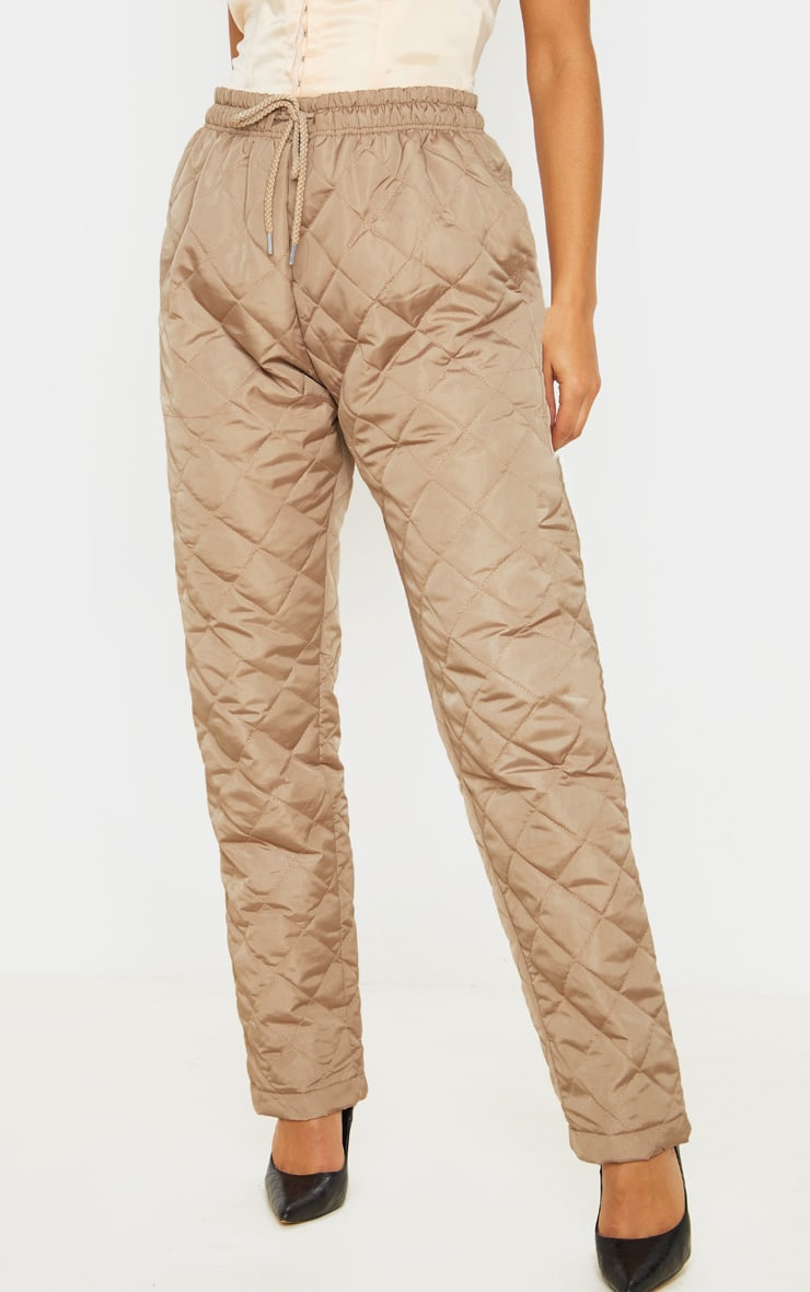 Stone Quilted Jogger  2