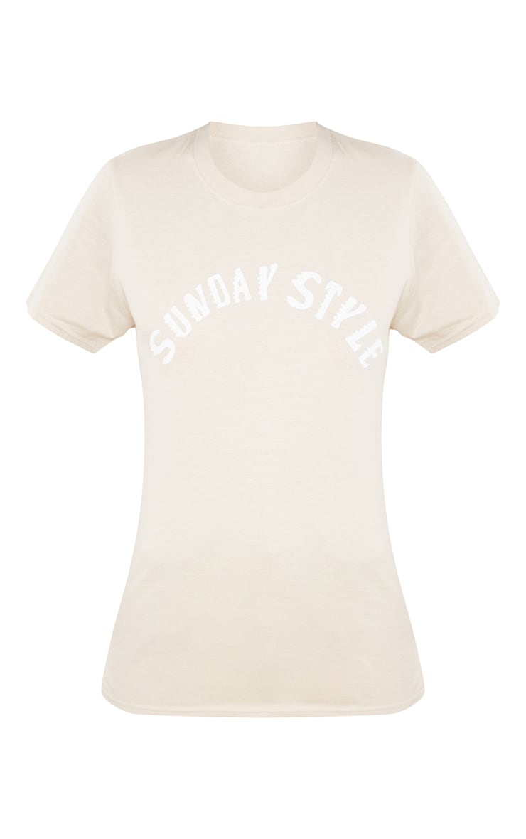 Tall  Stone Sunday Style T Shirt 5