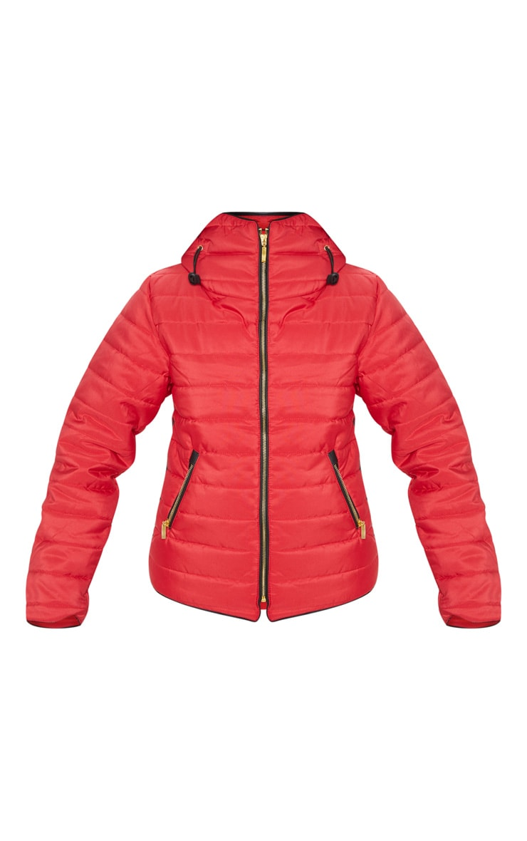 Mara Red Puffer Jacket 3