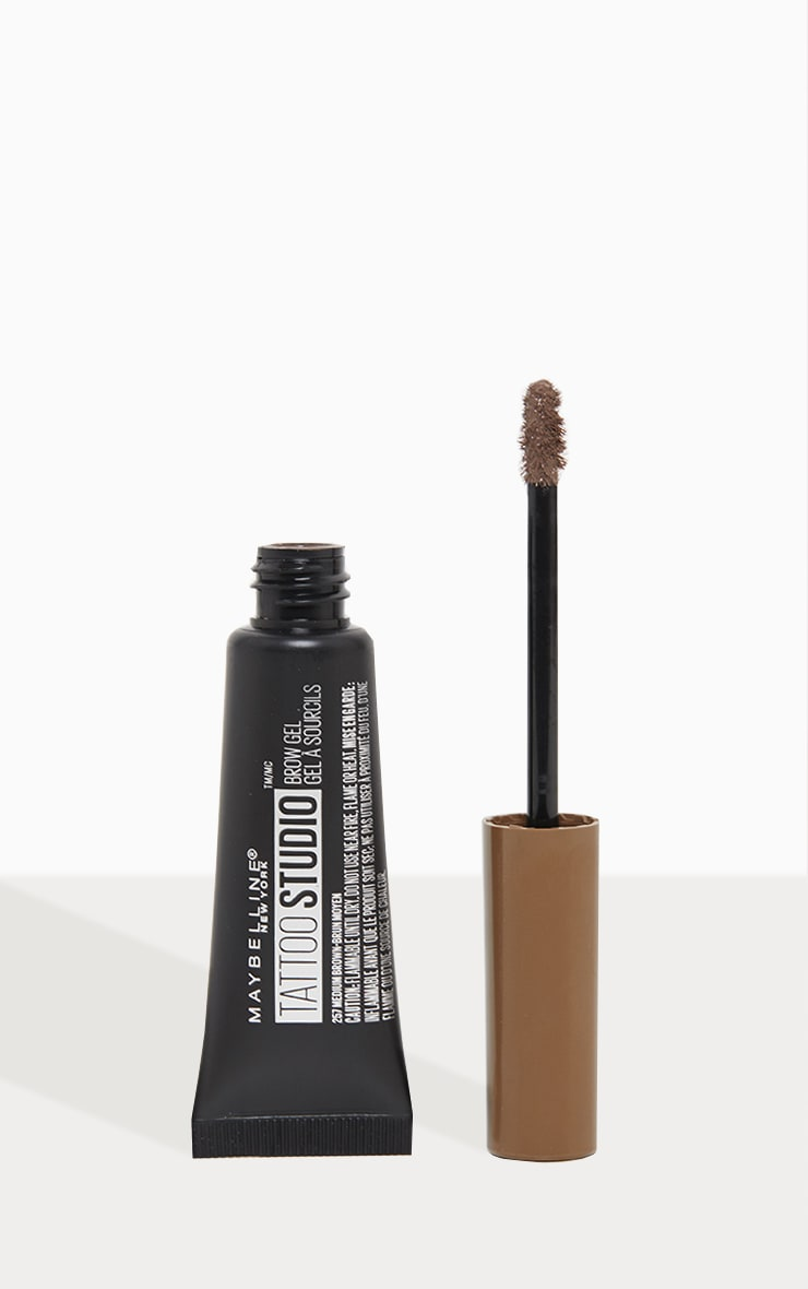 Maybelline Tattoo Brow Waterproof Gel 04 Medium Brown 1