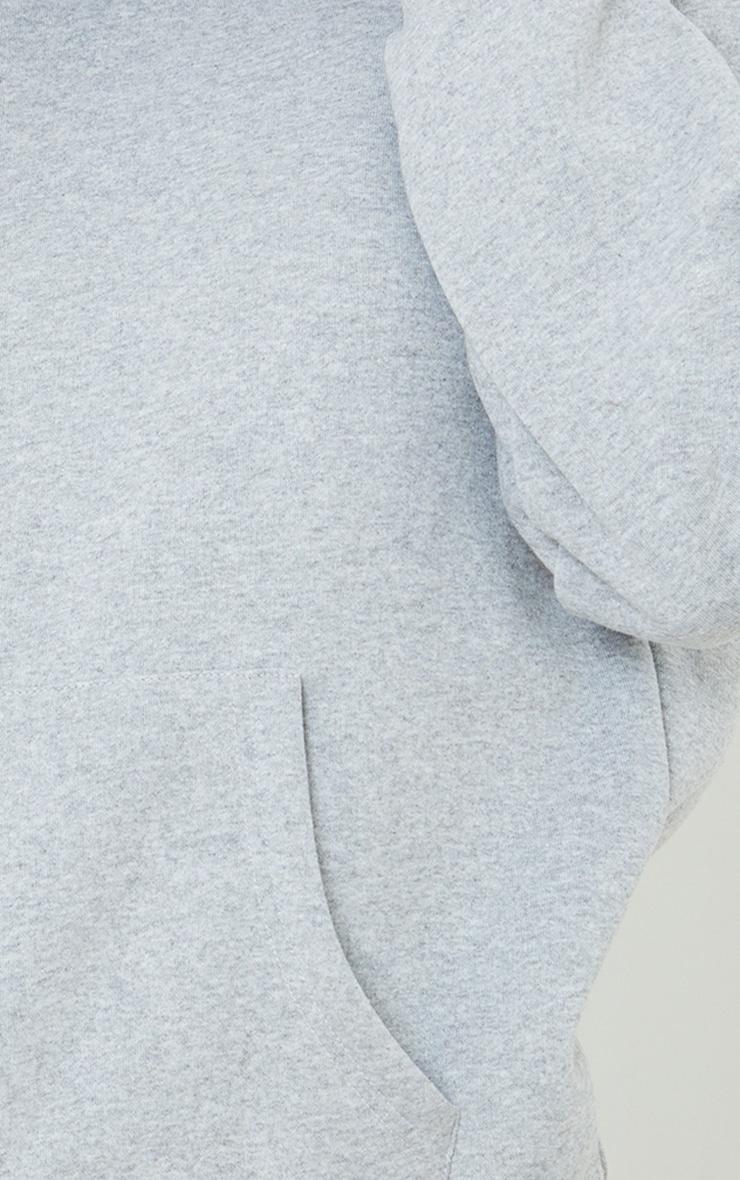 Grey Oversized Mask Hoodie 4