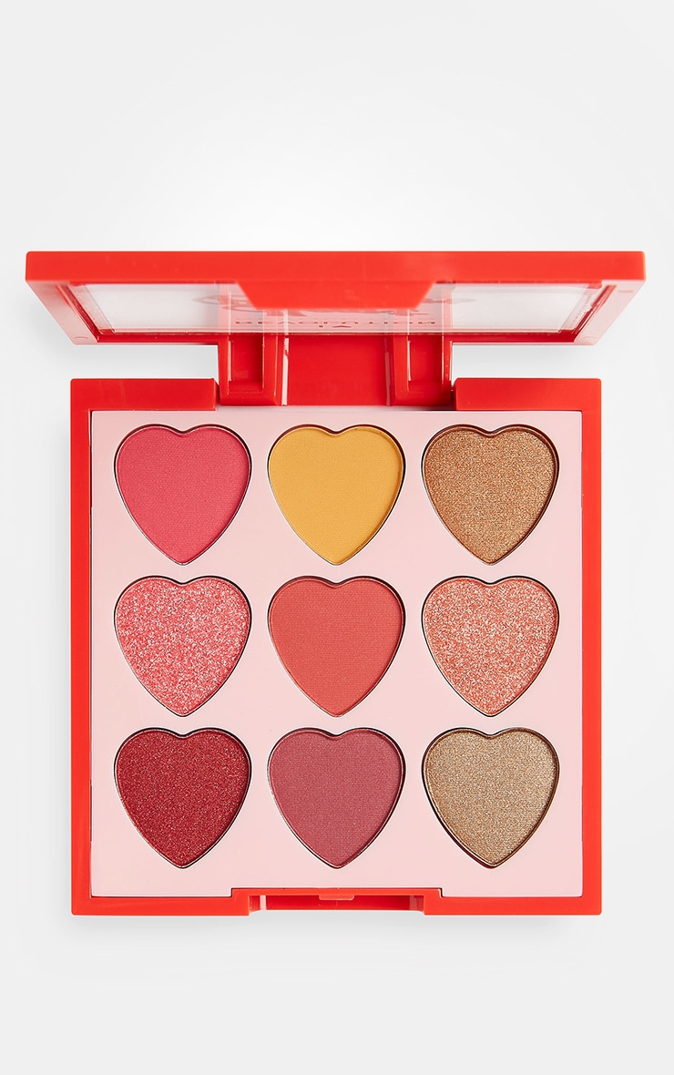 I Heart Revolution Heartbreakers Eyeshadow Palette Courage 1