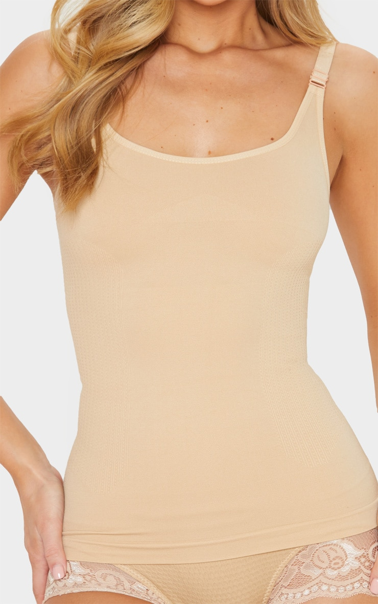 Nude Strappy Shapewear Vest 5