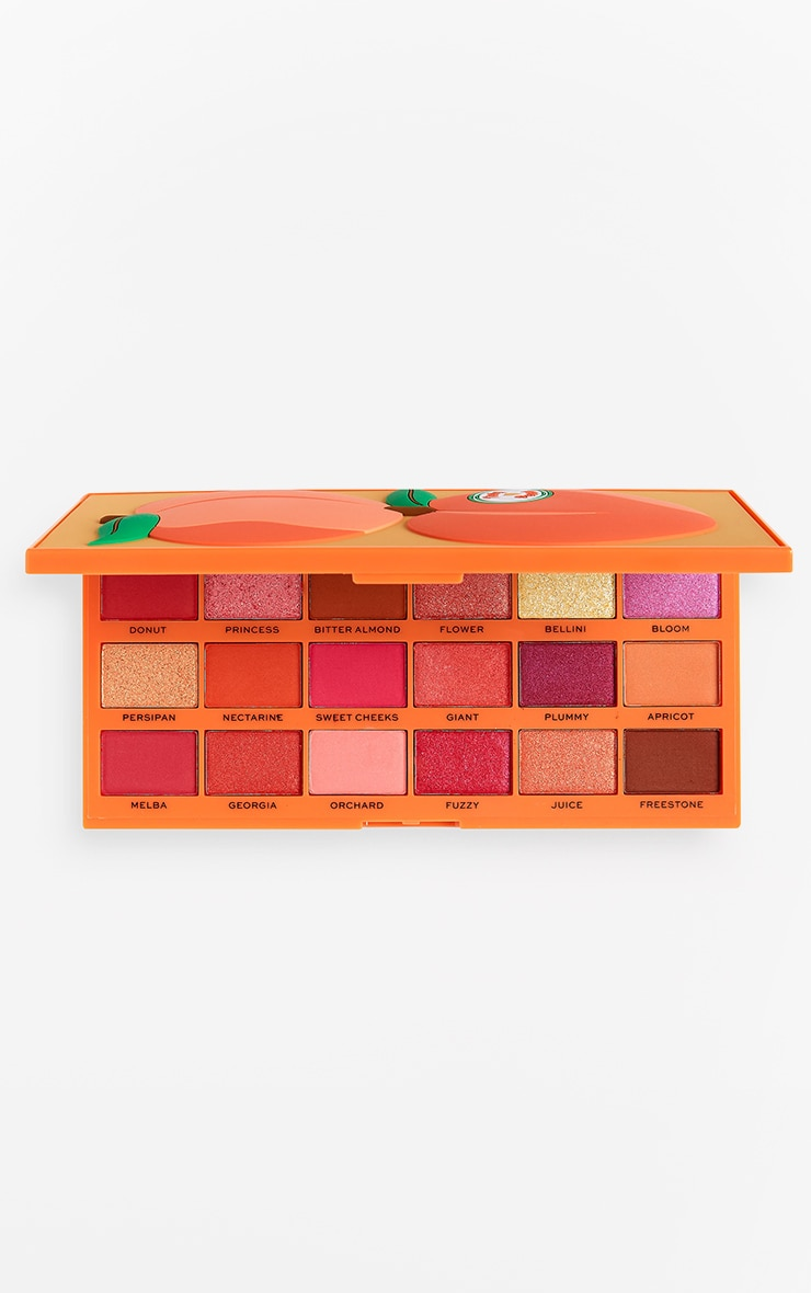 I Heart Revolution Tasty Eyeshadow Palette Peach 1