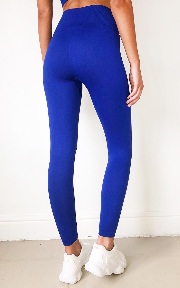 Cobalt High Waist Seamless Gym Leggings 3