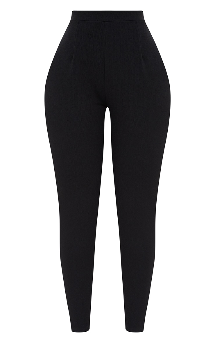 Shape Black Fitted Trousers 3