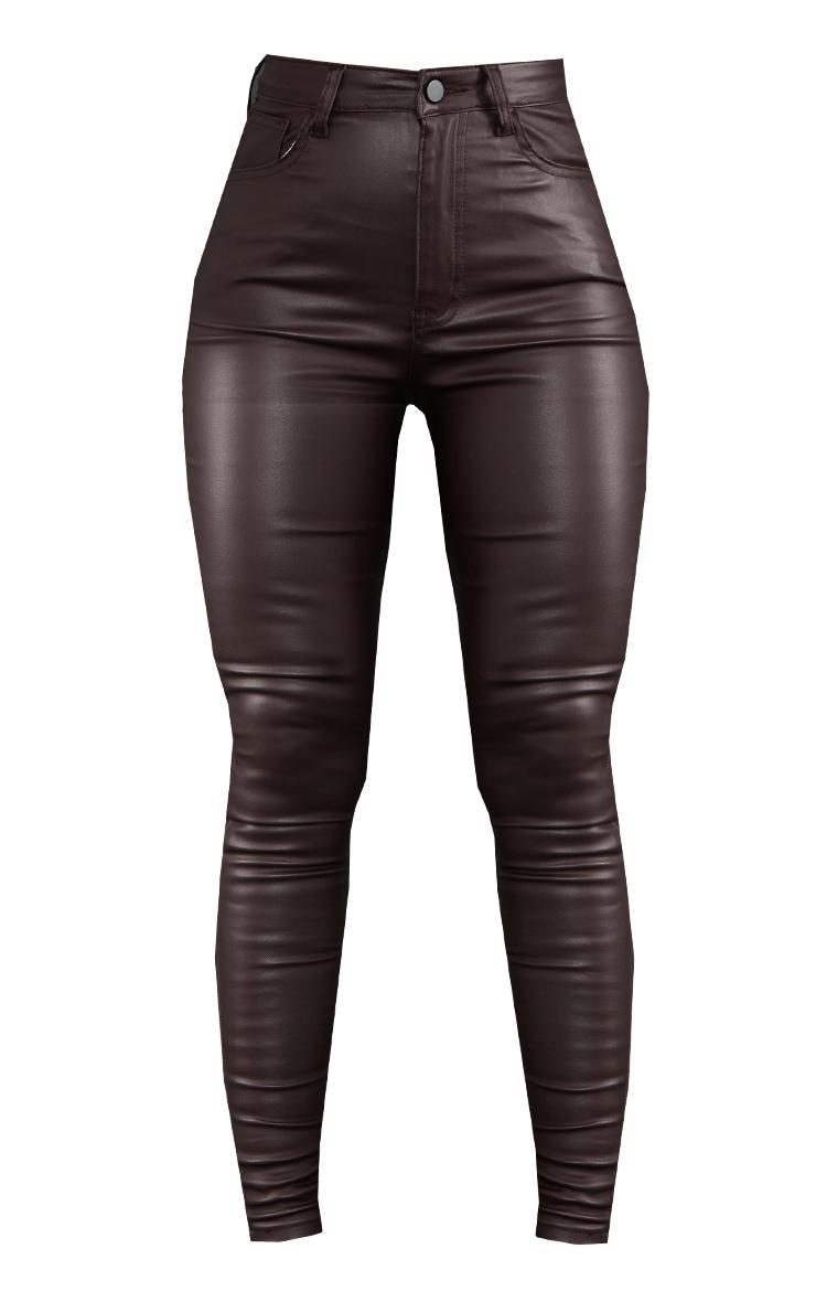 Chocolate Coated Skinny Jeans 5