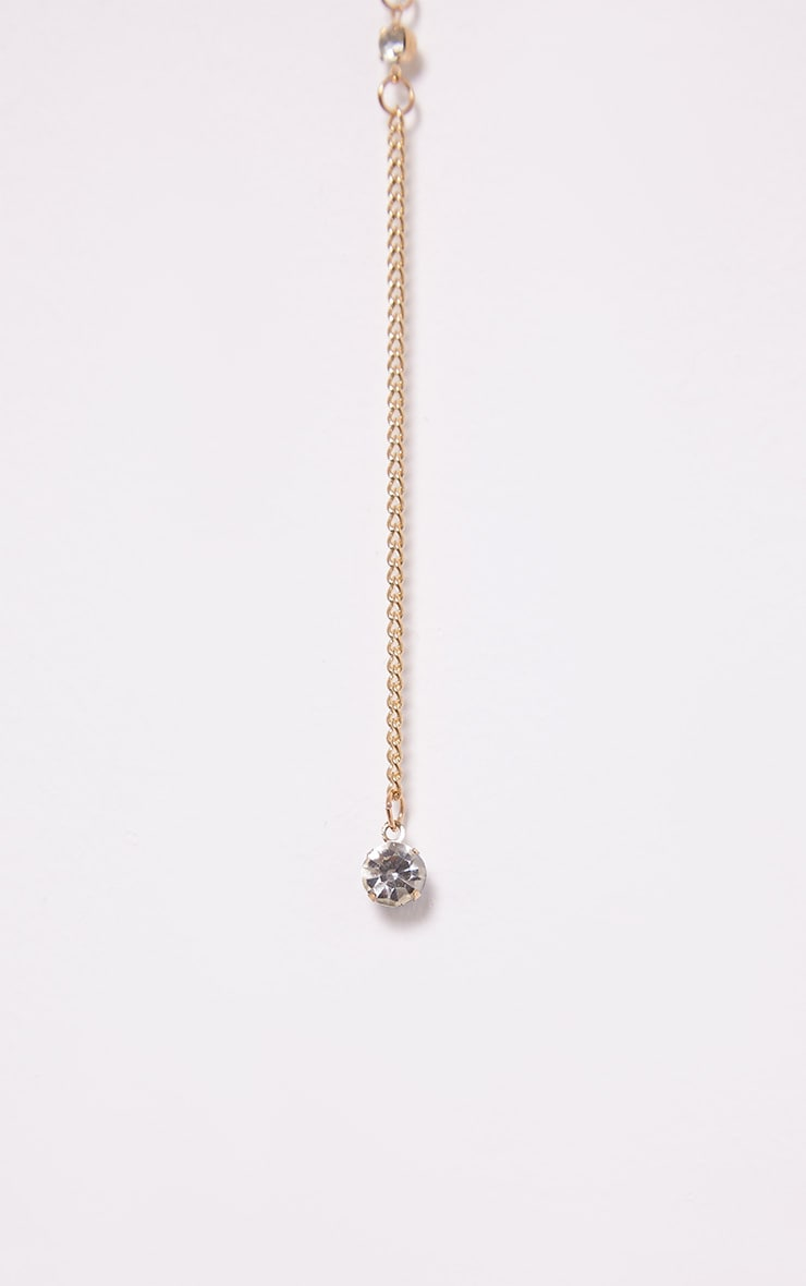 Tagan Gold Chain Drop Choker 3