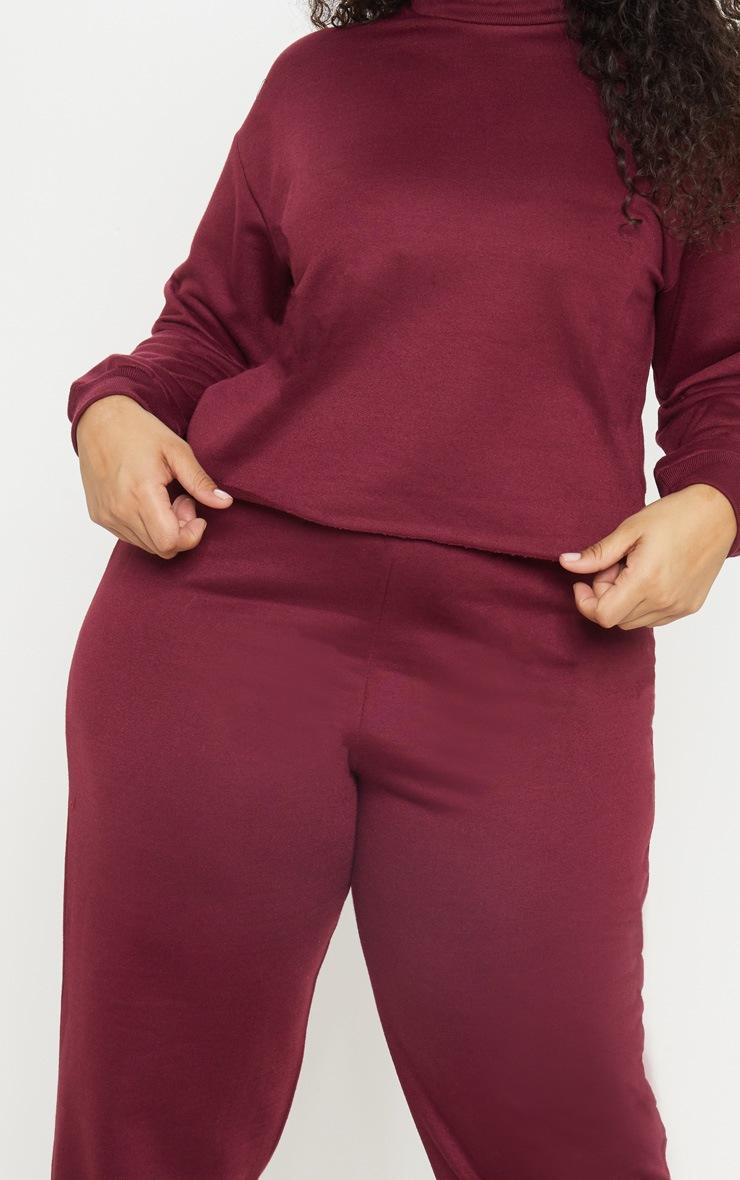 Plus Burgundy Sweater 5