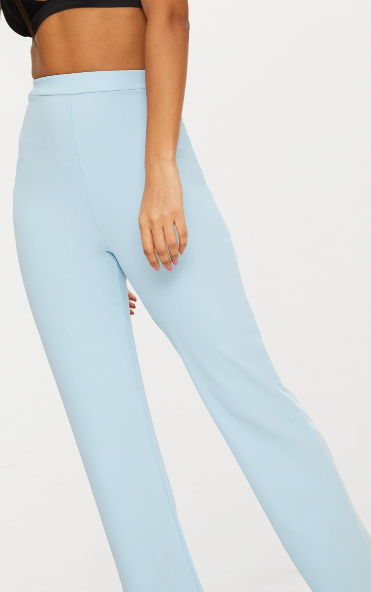Blue Straight Leg Trouser 4