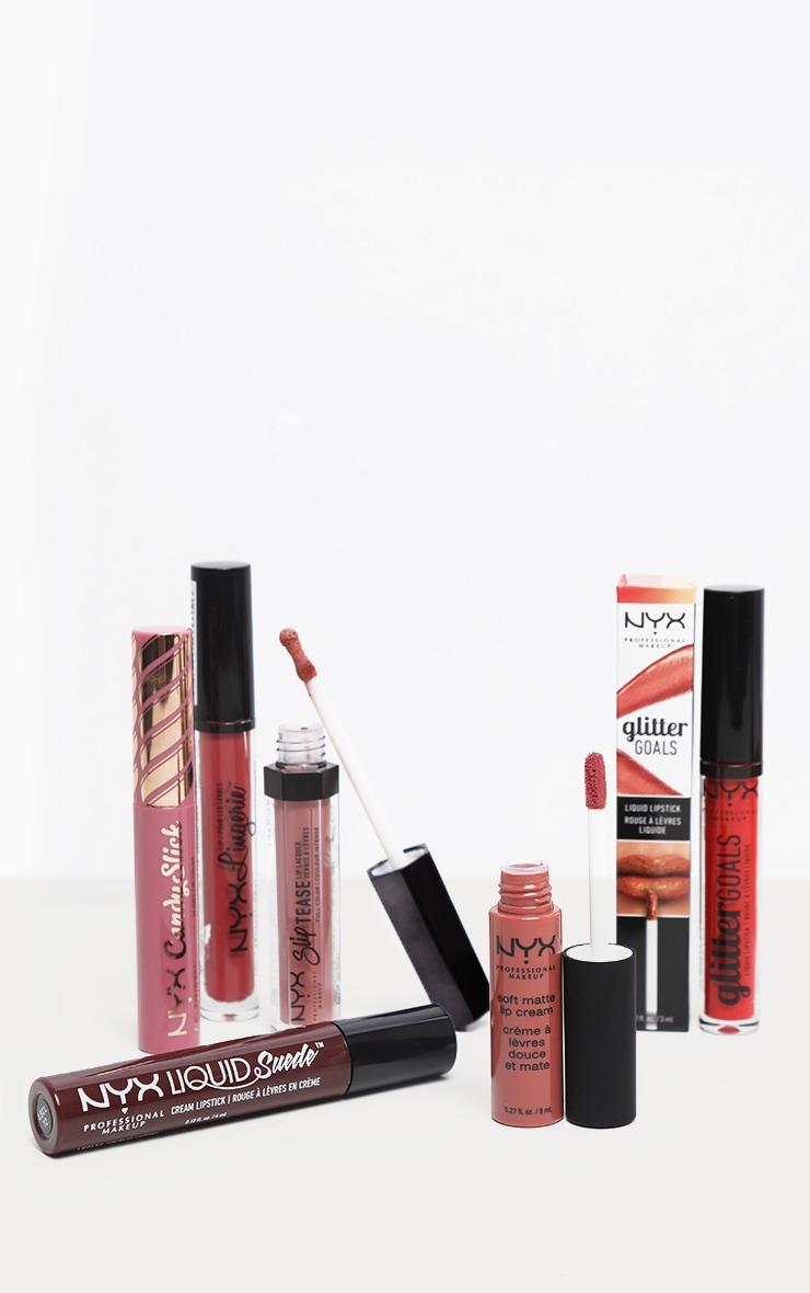 NYX PMU Get Physical Nude Lip Christmas Gift Set 1
