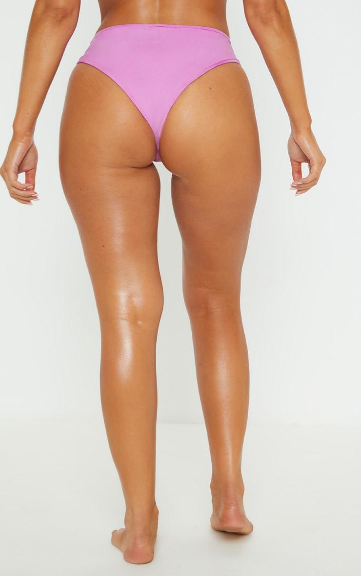 Violet Mix & Match Cheeky Bum Bikini Bottom 4