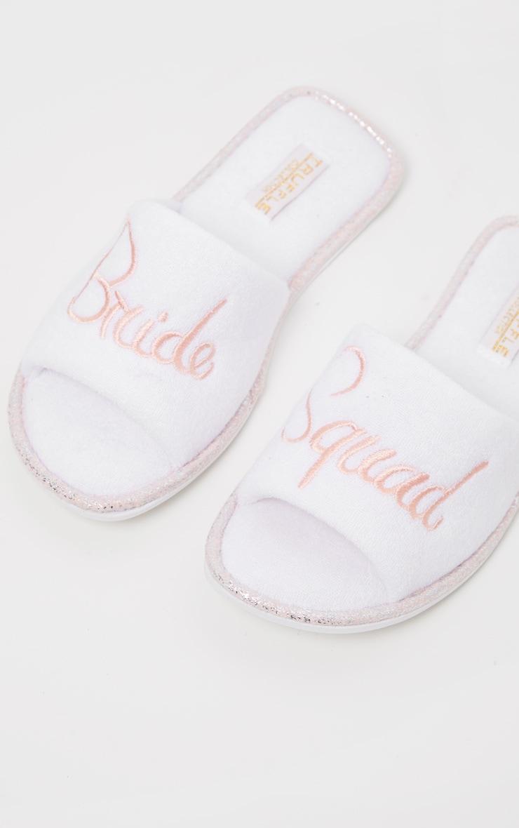 White Bride Squad Slippers 4