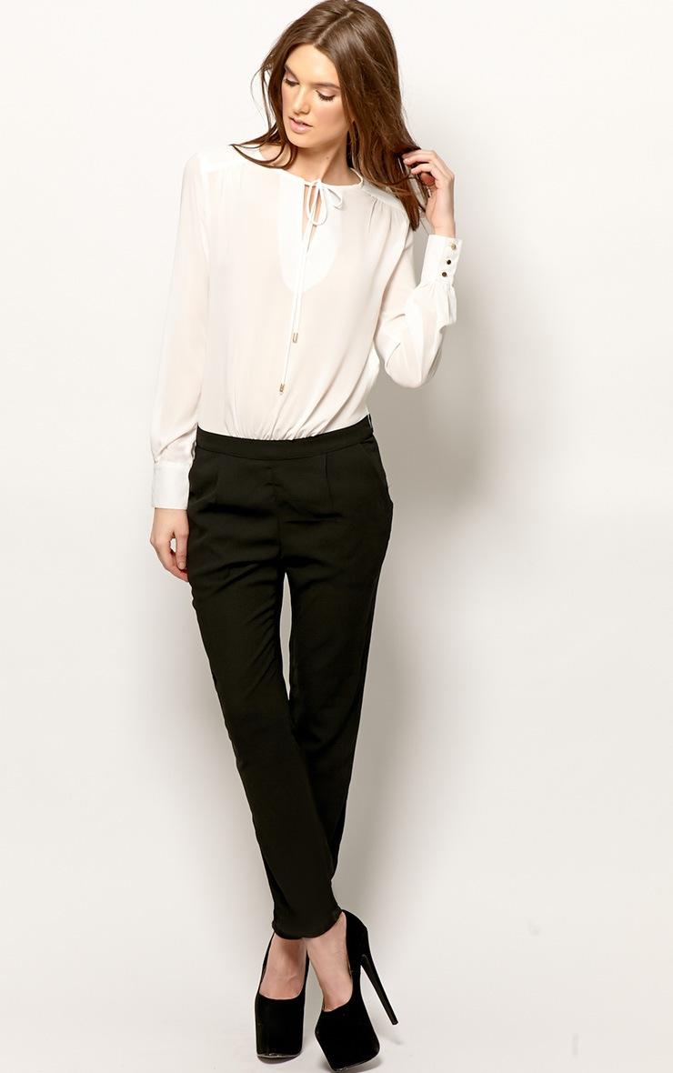 Fia Black & White Jumpsuit 3