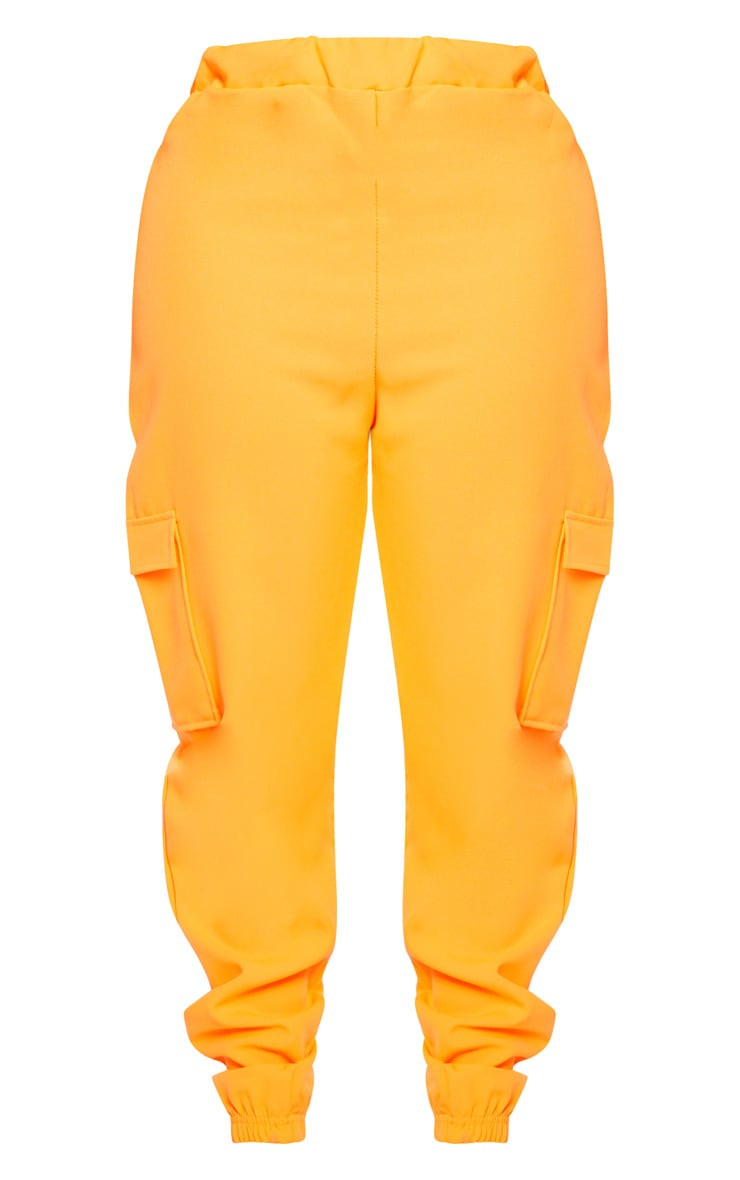 Shape Neon Orange Utility Jogger 4