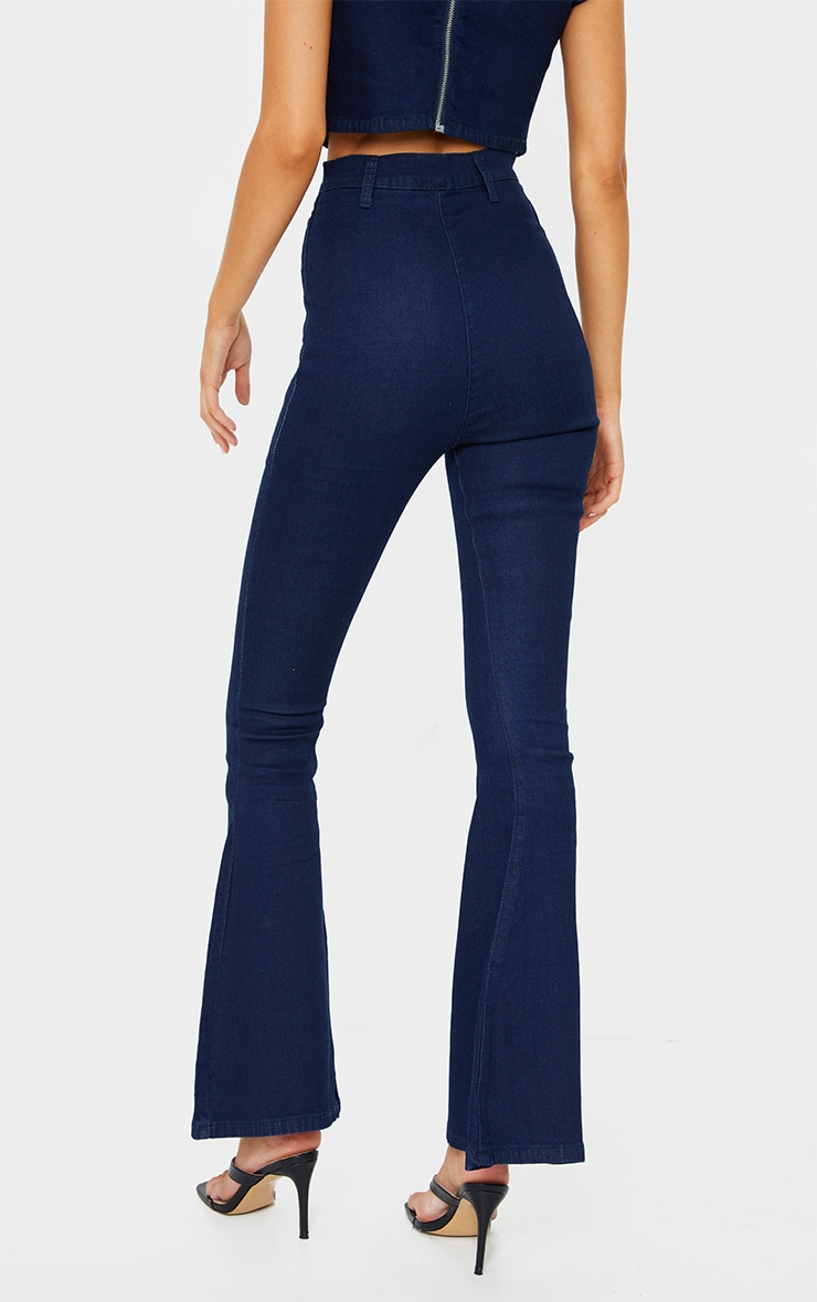 Indigo Kick Flared Jeans 3