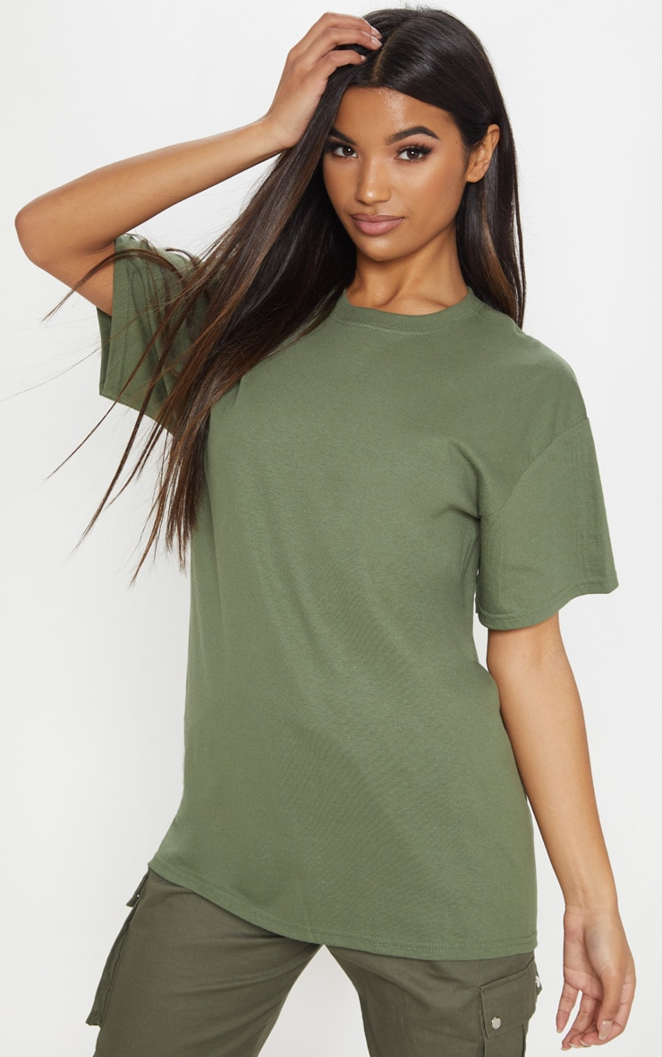 Ultimate Green Oversized T Shirt 1