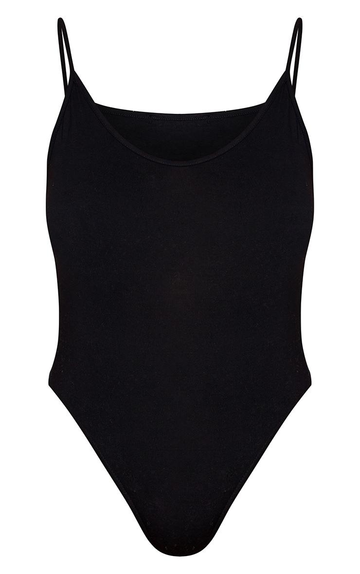 Plus Basic Black Bodysuit 5