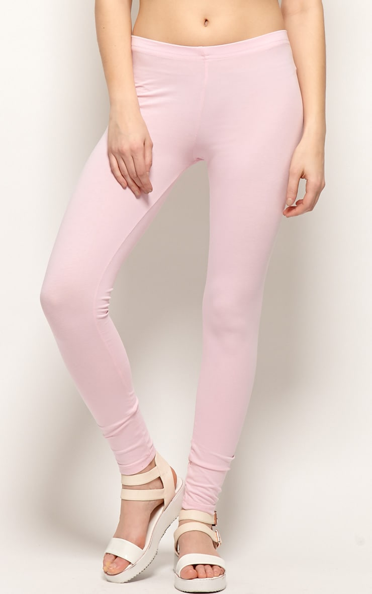Harriet Pink Basic leggings-M 3