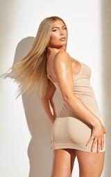 Nude Shapewear Control Slip Dress 2
