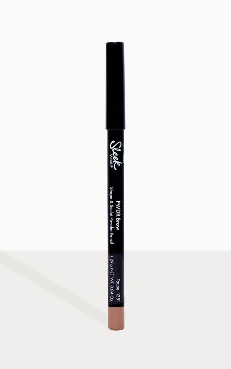 Sleek MakeUP PWDR Brow Pencil Taupe 1